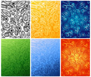 Colored_ornaments Royalty Free Stock Photo