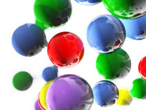 Coloreds balls Royalty Free Stock Photo