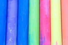Coloree el extracto de la tiza Fotos de archivo libres de regalías