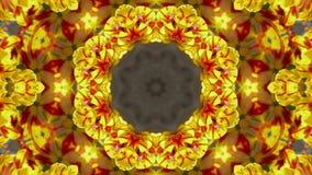 Coloree el fondo de la boda del estampado de plores del loto, suposición magnífica de la religión de Oriente, fractal, estructura stock de ilustración