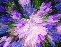 Coloree el fondo de la textura, extracto, bloques de la protuberancia del color y Fotos de archivo libres de regalías