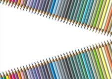 Coloree el lápiz Foto de archivo libre de regalías
