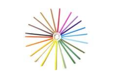 Coloree el lápiz imagen de archivo