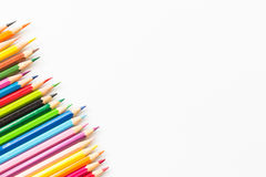 Coloree el lápiz Imágenes de archivo libres de regalías