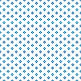 Coloree el pequeño modelo de puntos lindo denso azul de la flor ilustración del vector