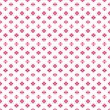 Coloree el pequeño modelo de puntos lindo denso rosado de la flor stock de ilustración