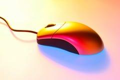 Coloree el ratón Fotografía de archivo