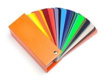 Ventilador o muestra del color Imagen de archivo libre de regalías