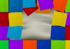Coloree la bandera Imagen de archivo libre de regalías