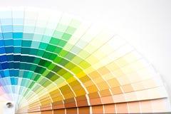 Coloree la guía. imagen de archivo