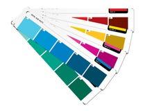 Coloree la guía azul Imagen de archivo