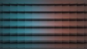 Coloree la superficie geométrica poligonal Fondo inconsútil generado por ordenador del movimiento del extracto del lazo para el e almacen de metraje de vídeo