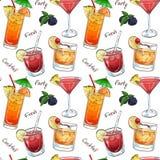 Coloree las nuevas bebidas de la era del modelo Fotos de archivo
