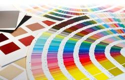 Coloree las opciones de la muestra Foto de archivo