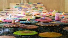 Coloree las placas foto de archivo libre de regalías