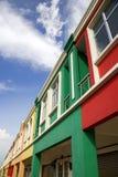 Coloree los departamentos antedichos de los hogares foto de archivo libre de regalías