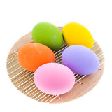 Coloree los huevos Fotografía de archivo