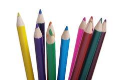Coloree los lápices Fotografía de archivo