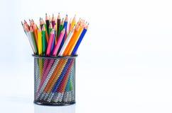 Coloree los lápices Fotos de archivo libres de regalías