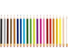 Coloree los lápices Fotos de archivo