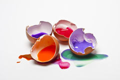 Coloreggs Royalty Free Stock Photography