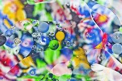 Colores abstractos Imagen de archivo