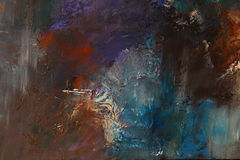 Colores abstractos Fotos de archivo