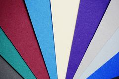 Colores abstractos Fotografía de archivo libre de regalías