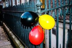 Colores alemanes Fotografía de archivo