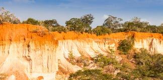 Barranco de Marafa - Kenia Foto de archivo