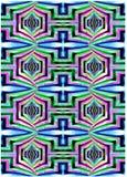 Colores angulares grandes Fotos de archivo libres de regalías