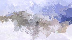 colores azules claros, grises y blancos del fondo del vídeo inconsútil manchado animado del lazo - almacen de video