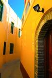 Colores brillantes de las paredes Foto de archivo