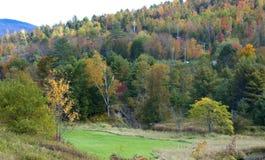 Colores brillantes del otoño fotos de archivo