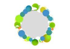 Colores circulares de la sol Imagen de archivo