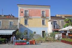 Colores de Acciaroli Foto de archivo libre de regalías