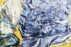 Colores de aceite secos foto de archivo libre de regalías