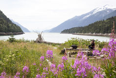 Colores de Alaska imagen de archivo