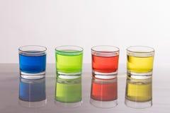 colores de cristal Fotografía de archivo