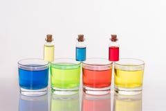 colores de cristal Foto de archivo libre de regalías