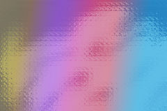 Colores de cristal cobardes Imagen de archivo