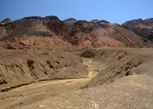Colores de Death Valley Fotografía de archivo
