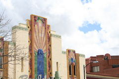 Colores de Denver de la configuración Imagen de archivo libre de regalías