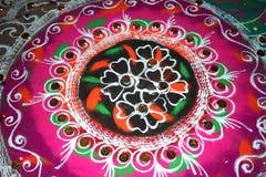 Colores de Diwali fotografía de archivo