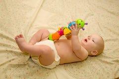Colores de enseñanza del bebé fotografía de archivo libre de regalías