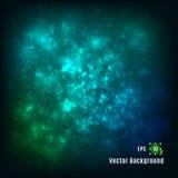 Colores de fondo azulverdes ligero abstracto del vector Fotos de archivo libres de regalías