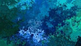 colores de fondo verdes azules video manchados animados abstractos
