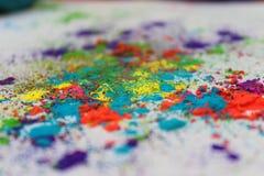 Colores de Holi Fotografía de archivo