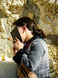 Colores de Israel Imagen de archivo libre de regalías
