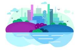 Colores de la ciudad imagen de archivo